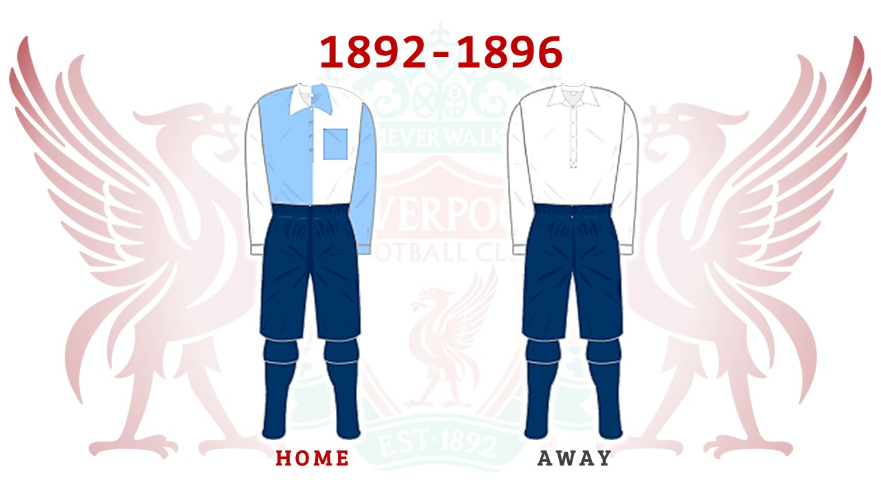 check out 6d0df 8d920 125 Years of Liverpool FC Kits - Kinabalu Reds